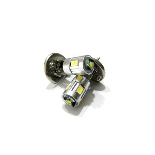 LED dióda H1 foglalatú fehér- párban - Exod H1 4x5630 + 3W