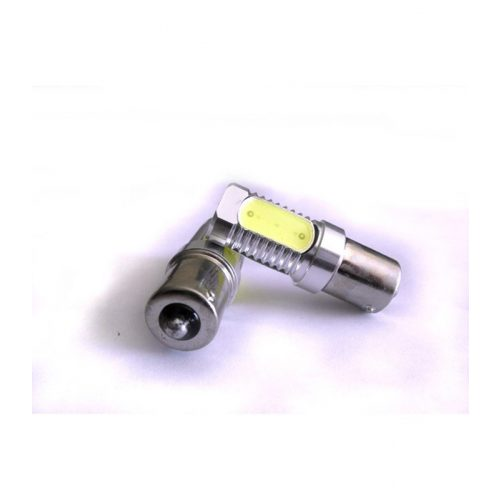 LED dióda BA15S foglalatú piros - EXOD BA15S 6W