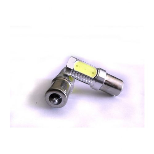 LED dióda BA15S foglalatú sárga - Exod Ba15S 6W