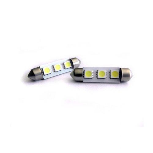 3 LED-es dióda fehér - Exod SOF SMD42LED