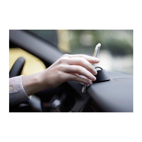 Telefon gyűrű autós tartóval - szürke - SMP IRSZ