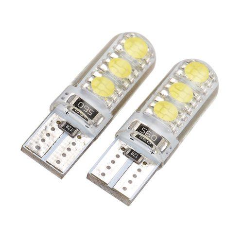 LED dióda T10 foglalathoz szilikon fehér - Exod T10 W