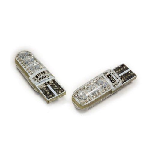 LED dióda T10 foglalathoz szilikon piros - Exod T10 R