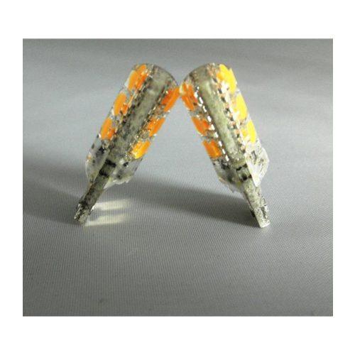 LED dióda T10 foglalathoz szilikon sárga - Exod T10 Y