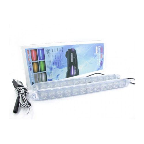 12 LED-es fehér Soft DRL - SMP SKD-312