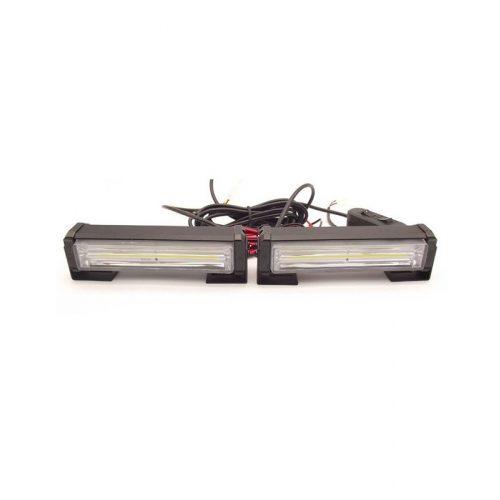 COB LED-es stroboszkóp 15,5X4,3cm kék-piros - SMP SL-BR