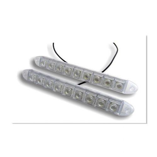 9 LED-es fehér Soft DRL - SMP SKD-309