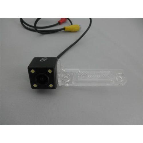 Skoda rendszám világításba integrált tolatókamera - SMP RK8059