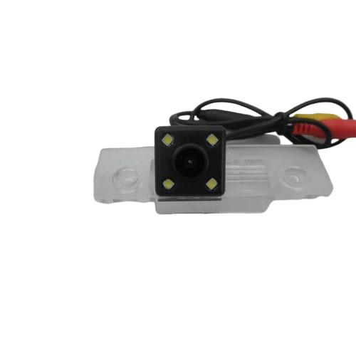Skoda - rendszám világításba integrált tolatókamera - SMP RK8173