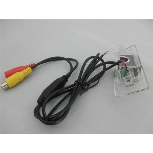 Audi rendszám világításba integrált tolatókamera - SMP RK8202
