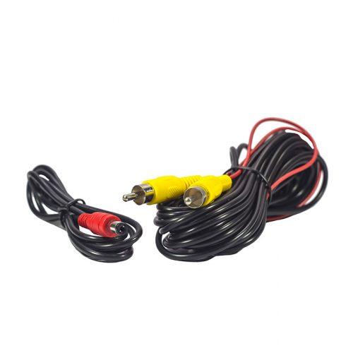 Skoda, VW rendszám világításba integrált tolatókamera - SMP RK8226