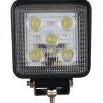 5 LED-es szögletes OFF Road lámpa