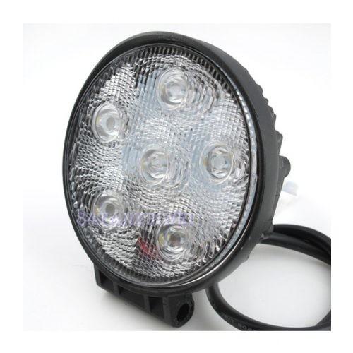 Off Road 6 LED-es kerek lámpa - SMP 18W SK