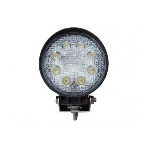 Off Road 8 LED-es kerek lámpa - SMP 24W SK