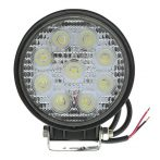Off Road 9 LED-es kerek lámpa - SMP 27W SK - 1db