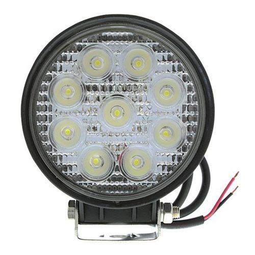 Off Road 9 LED-es kerek lámpa - SMP 27W SK - 1db