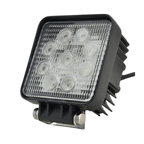 Off Road 9 LED-es szögletes lámpa - SMP 27W SN