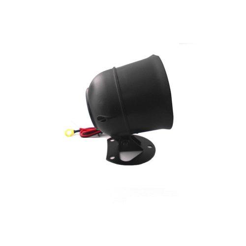 Sziréna, egyszólamú, fekete-piros - KPS-86T20