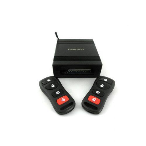 Központizár vezérlő - 2db távirányítóval - csomagtér nyitással - SMP V03TR.6018