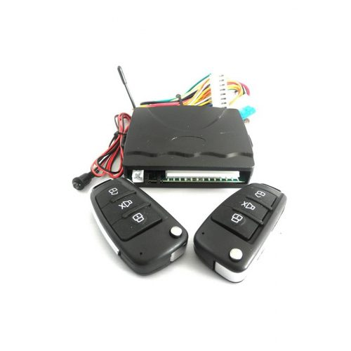 Központizár vezérlő - 2db bicskakulcsos távirányítóval - SMP V09B
