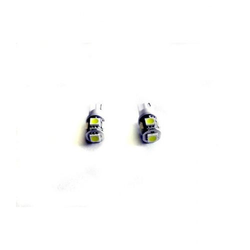 LED dióda T10 foglalathoz fehér (foglalat nélküli) - Exod T10x5 5050 SMD W