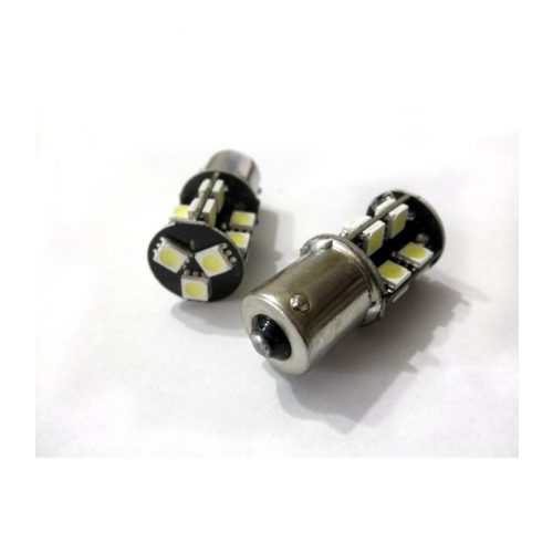 Can-bus szuper SMD LED 23mm piros - Exod BA15S-19 R