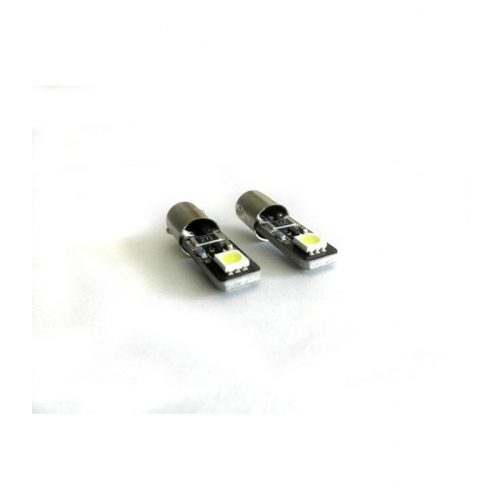 Can-Bus szuper SMD LED Ba9s 20mm fehér - Exod CL5
