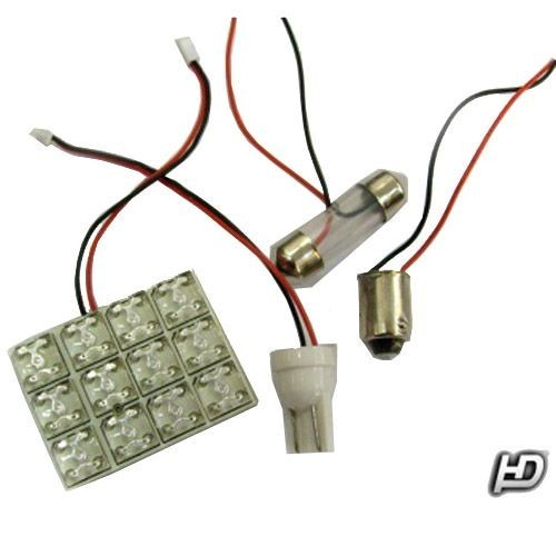 Image of 12 LED-es 25X25mm panel fehér - L-ASBL-12
