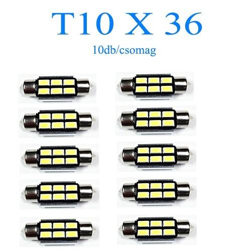Image of 10db/csomag 6SMD LED SMD-10X36-6SMD Szofita
