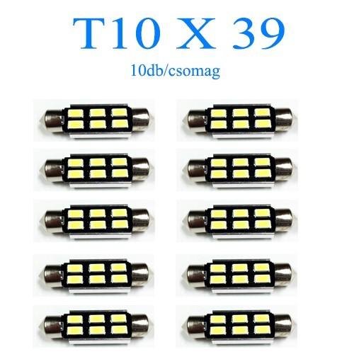 Image of 10db/csomag 6SMD LED SMD-10X39-6SMD Szofita