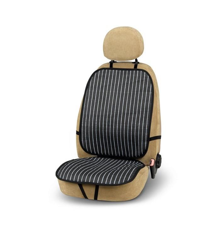 Bottari ülésvédő, 1db-os - fekete, fehér csíkos mintával