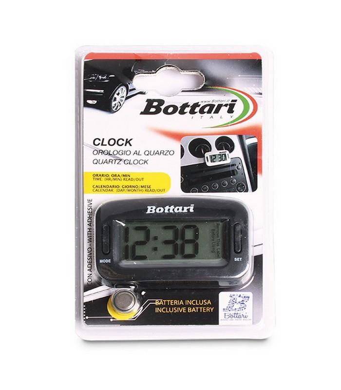 Bottari - digitális óra műszerfalra, univerzális, fekete