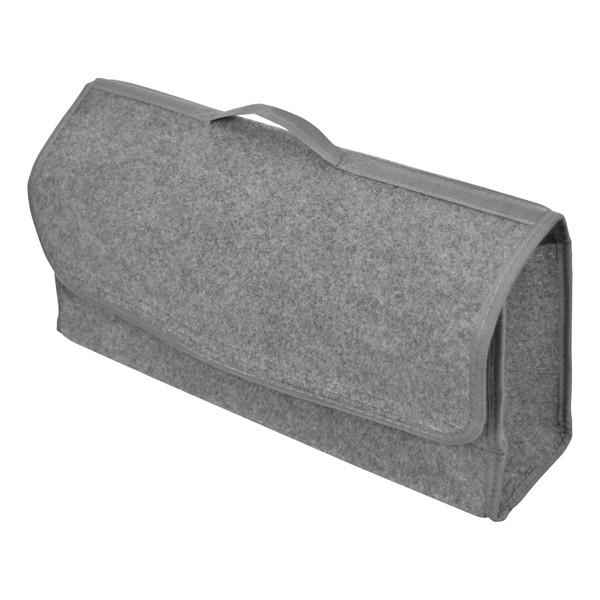 Carpoint - csomagtér táska - 50x24x15cm, szövet, szürke