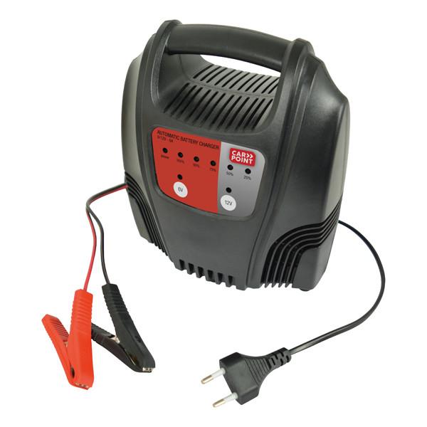 Akkumulátor töltő - 6-12V, 6A
