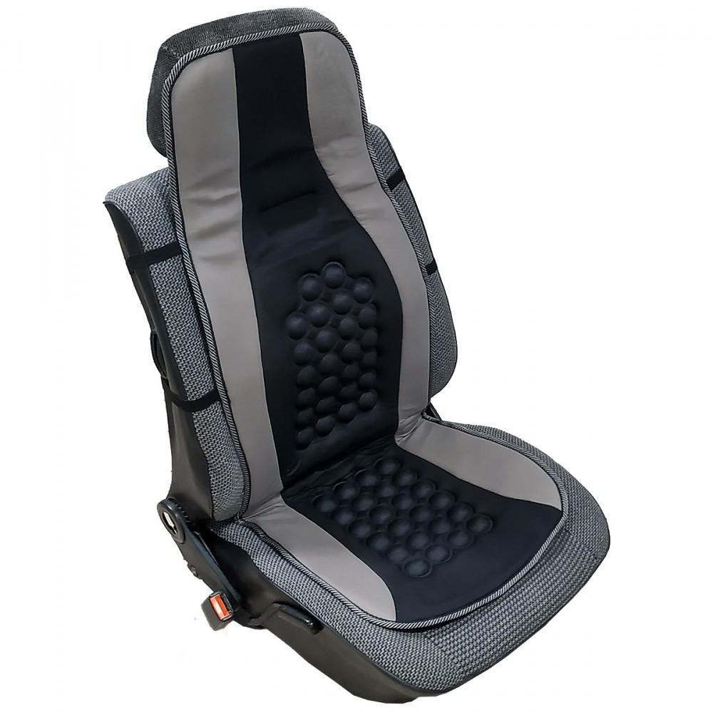 Mágneses ülésvédő, 1db-os - fekete-szürke színű