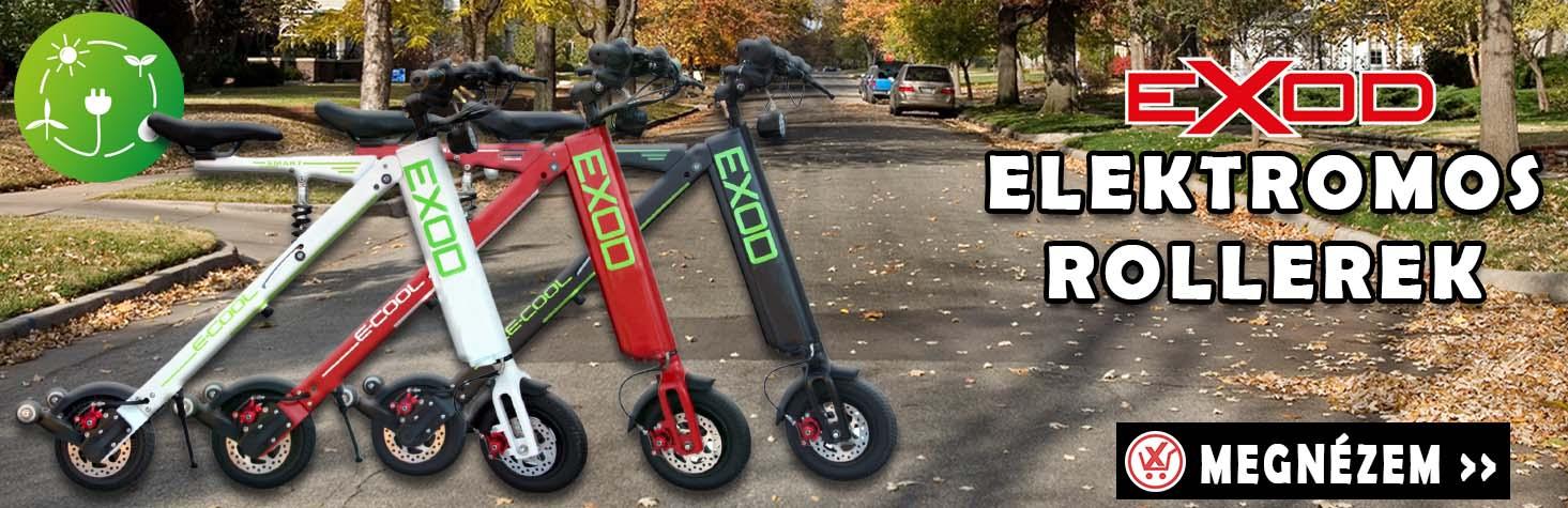 EXOD elektromos rollerek